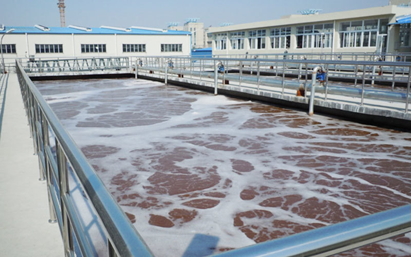 water treatment project-horizontal sedimentation tank of Kede